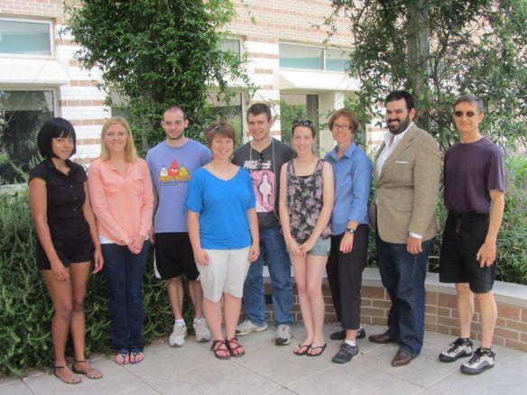 Mathematical Modeling in Biology REU Group