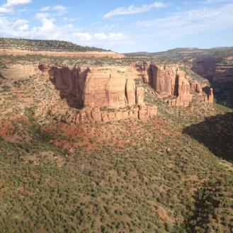 Colorado National Monument, Serpent's Tongue.