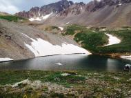 One of the beautiful glacial lakes.