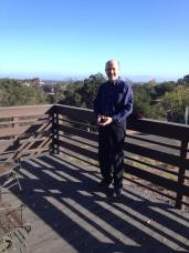 Nick Suntzeff at the Stanford Student Observatory.